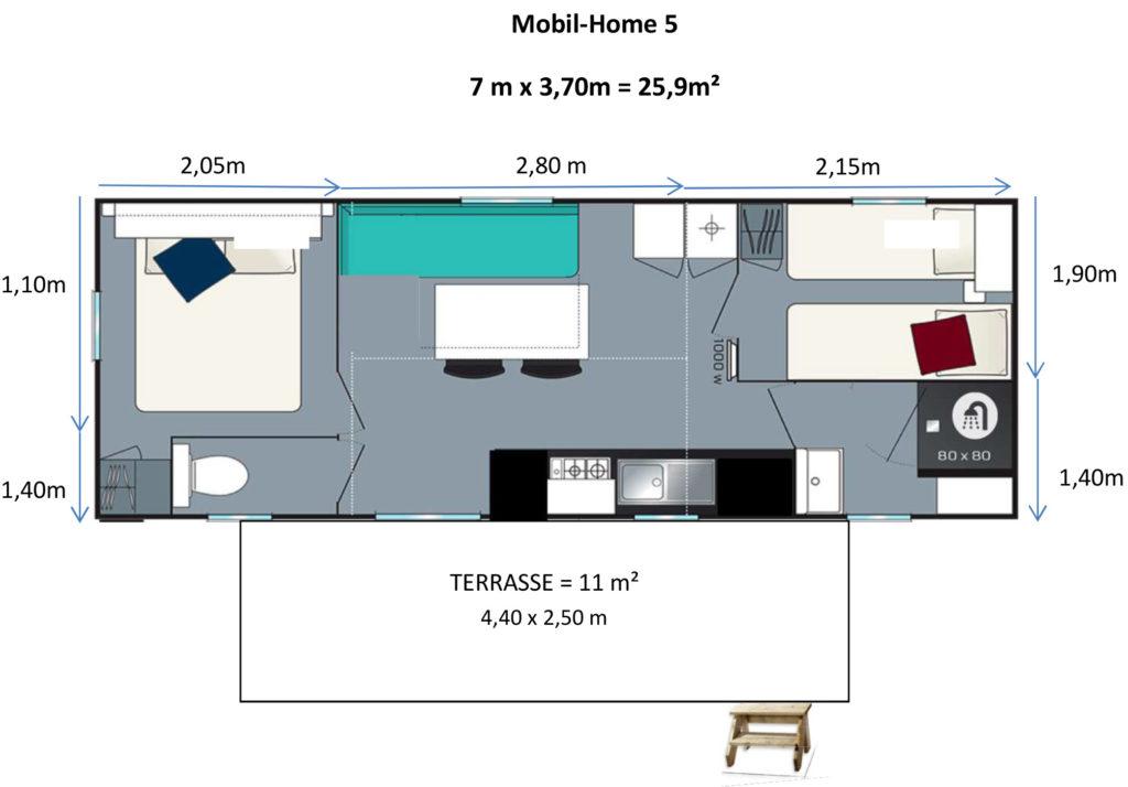 Plan Mobil-home N°05